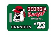 Baseball Bag Tag - Design 2 - Customize