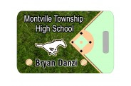 Baseball Bag Tag - Design 4 - Baseball Field