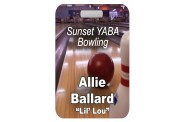 Bowling Bag Tag - Design 2 - Full Color