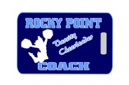 Cheer Bag Tag - Design 2 - Cheerleader Image