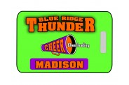 Cheer Bag Tag - Design 1 - Megaphone Image