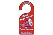 Cheerleading Door Hanger