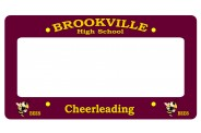 Cheerleading License Plate Frame