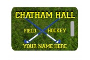 Field Hockey Bag Tag - Design 1 - Rectangle