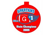 Football Ornament - Design 1 - Team