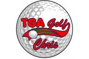 Golf Magnet  - Design 1 - Golf Ball
