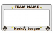 Hockey License Plate Frame