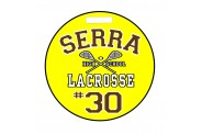 Lacrosse Bag Tag - Design 3 - Round