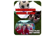 Soccer Mouse Pad - Design 1 - Square