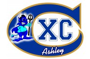 Track Magnet  - Design 6 - Cross Country - Team Logo