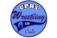 Wrestling Magnet  - Design 2 - Round - Team
