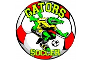 Soccer Magnet  - Design 2 - Center Mascot Clip Art