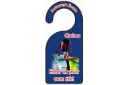 Swim Door Hanger - Design 2 - Female