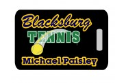 Tennis Bag Tag - Design 1 - Tennis Image