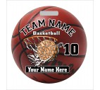Basketball Bag Tag - Design 6