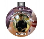 Bowling Photo Ornament