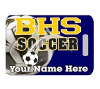 Soccer Bag Tag - Design 1
