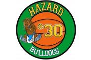 Basketball Magnet  - Design 7 - Center Ball
