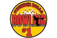 Bowling Magnet - Design 1 - Bowling Image