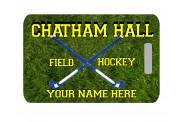 Field Hockey Bag Tag - Design 1 - Rectangle