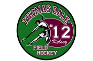 Field Hockey Magnet  - Design 3 - Player Image