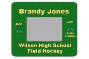 Field Hockey Photo Frame