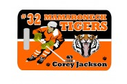Hockey Bag Tag - Design 2 - Hockey Clip Art Image