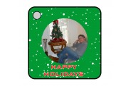 Holiday Key Chain - Design 1