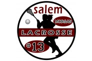 Lacrosse Magnet  - Design 5 - Player Image - Female