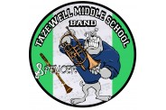 Band Magnet  - Design 1 - School Mascot Image
