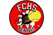 Tennis Magnet  - Design 2 - Breakout Image