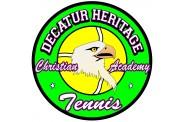 Tennis Magnet  - Design 6 - Center Masot Image
