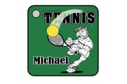 Tennis Key Chain - Design 1 - Tennis Image