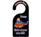 Swimmer Door Hanger - Boy